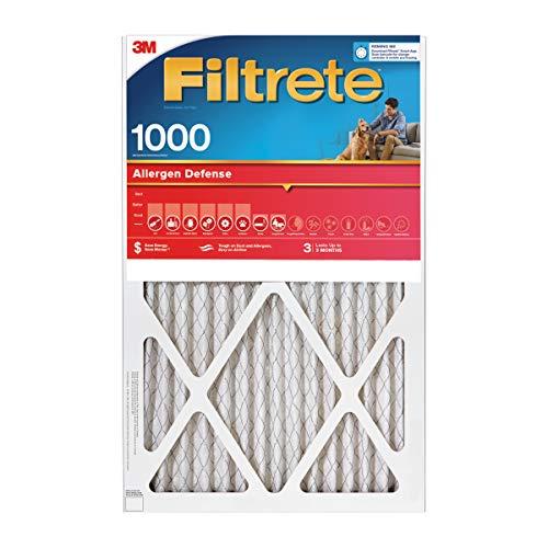3M Filtrete 1500 Ultra Allergen Air Filters 6-PACK 18x18x1
