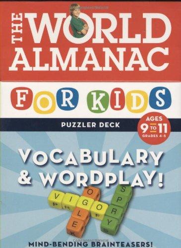 Read Online World Almanac Puzzler Deck: Vocabulary & Wordplay Ages 9-11 - Grades 4-5 (World Almanac for Kids Puzzler Deck) ebook