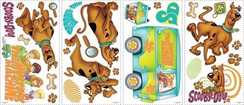 SCOOBY DOO 26 BiG Wall Stickers Mystery Machine (Scooby Doo Mystery Machine Sticker)