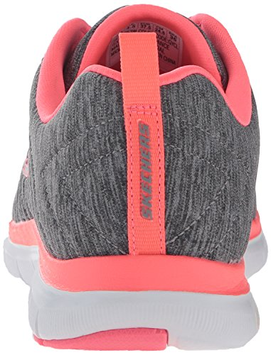 Sneakers Damen Grau 2 Grey Appeal Coral Flex Skechers 0 f1dq1XW