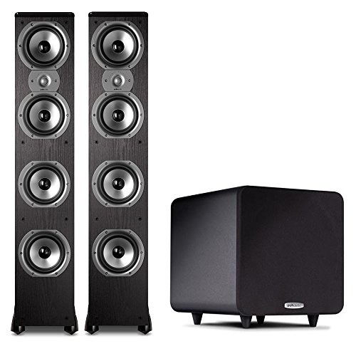 Polk 2.1 System with (2) TSi500 Floorstanders and ...