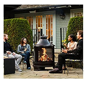 This Fire Pit or Cooking Grilling BBQ is also great heater ...