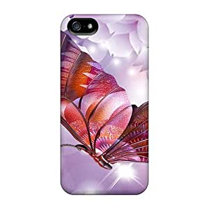 Anti-scratch And Shatterproof Spring Sakura Surpise Phone Case For Iphone 5/5s/ High Quality Tpu Case by icecream design
