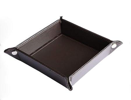 Wedo 75025001/Pantal/ón Bolsillos Depot f/ácil cuidado de piel sint/ética estante aprox 23/X 15/X 3 5/cm color negro