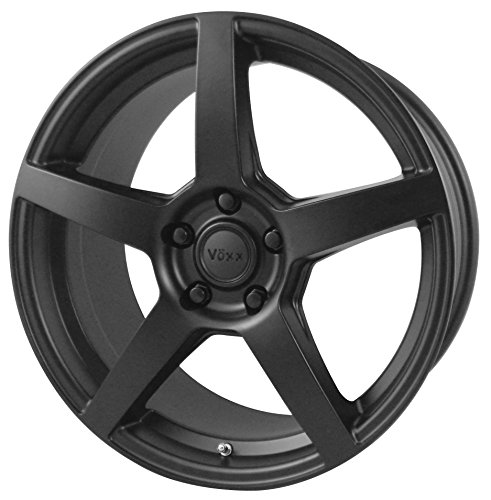 "Vöxx MGA Matte Black Wheel (18x8""/5x108mm, +40mm offset)"