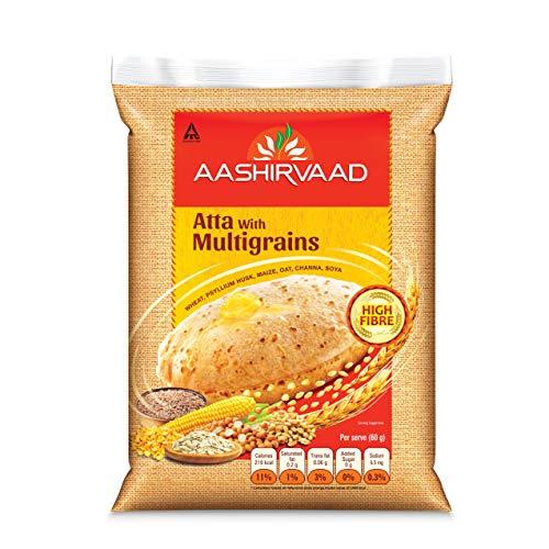 Aashirvaad Atta with Multigrains, 1kg
