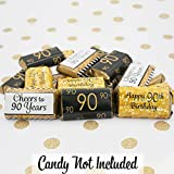 DISTINCTIVS 90th Birthday Party Miniatures Candy