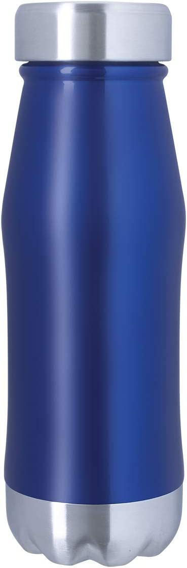 Hot up to 12 Hours Meets FDA Requirements Cold up to 24 Hours Wide Mouth BPA-free Spill-resistant Lid 16 oz Cassel Double-Wall Vacuum-Insulated Stainless Steel Bottle