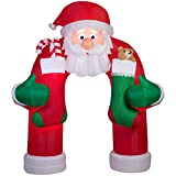 Holiday Living 12-ft x 4.92-ft Animatronic Lighted Archway Christmas Inflatable