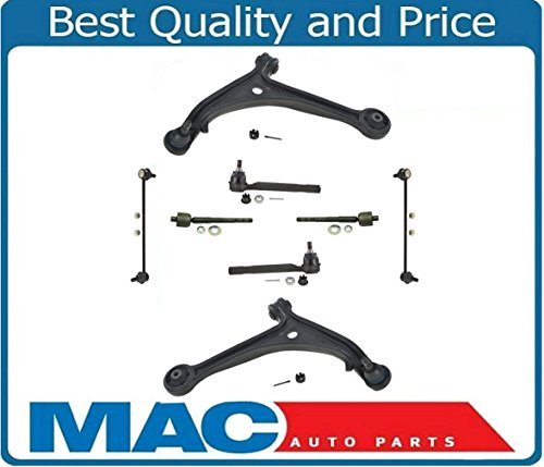 New Control Arm Ball Joint Tie Rods Sway Bar Links Fits For Honda Odyssey 05-06 LX EX