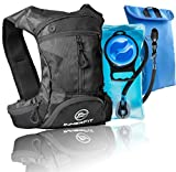 InnerFit Hydration Backpack and Water Bladder, Durable Camel Backpack Hydration Pack - Running, Hiking, Biking and Outdoor Activities - Lightweight Water Backpack