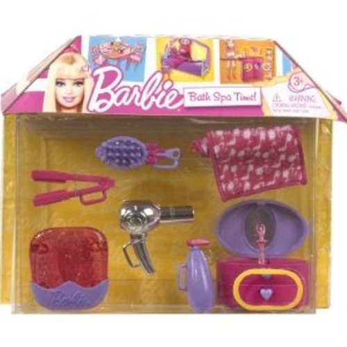 Barbie Bath Spa Time! Playset