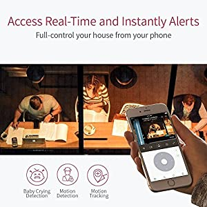 YI Dome Camera, 1080p HD Indoor Pan/Tilt/Zoom Wireless IP Security Surveillance System with Night Vision, Motion Tracking - Cloud Service Available (White) (Color: White, Tamaño: Outdoor Camera)