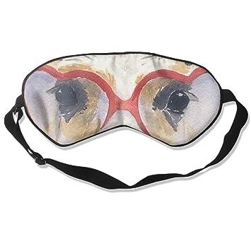 f750a5689b1 Amazon.com   Sleep Mask Sunglasses Alpaca Eye Cover Blackout Eye Masks