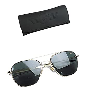 "GENUINE GOVERNMENT AIR FORCE PILOTS SUNGLASSES BY  quot AMERICAN OPTICS"" 4ae8bced978"