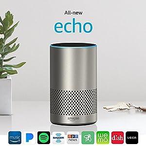 Echo (2nd Generation) - Silver Finish