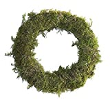 Furrow & Vine - 20'' Fresh Moss Wreath