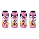 Anti-Monkey Butt Powder Lady 6 oz. Bottle of Calamine Powder, 4-Pack