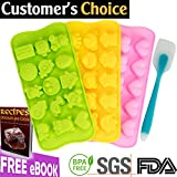 best seller today Silicone Chocolate Candy Molds (Bonus...