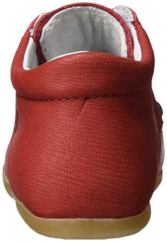 Falcotto 1551, Zapatillas para Bebé-Niños Rojo (Rojo)