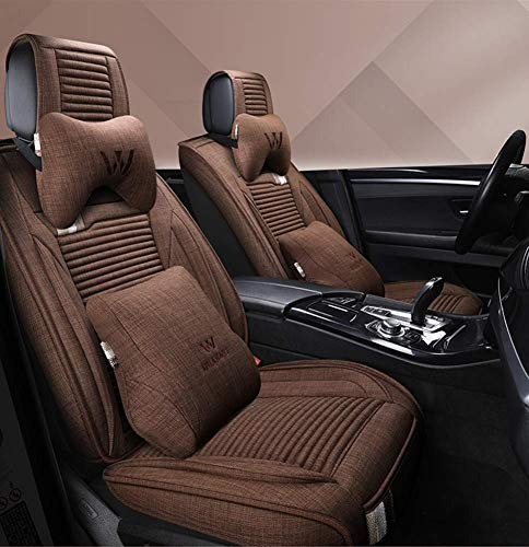 Set Universal Fit 5 Seats Car PU Leather Car Seat Cushions Anti-Slip Suede Backing Universal Fit Car Seat Covers for Sedan SUV Seats: Amazon.co.uk: Kitchen & Home