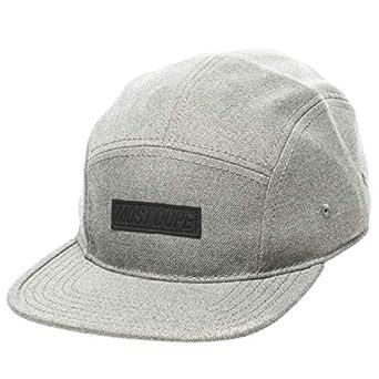 purchase cheap f7281 8aa13 Mac Miller Gray 5 Panel Camper Cap Hat  Amazon.co.uk  Clothing