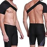 UniM Neoprene Adjustable Breathable Gym Sports Care Single Shoulder Support Back Brace Guard
