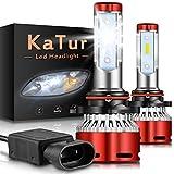 KaTur 9012 Led Headlight Bulbs CSP Chips Mini Design Super Bright 12000LM Waterproof