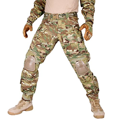 multicam pants knee pads - 3