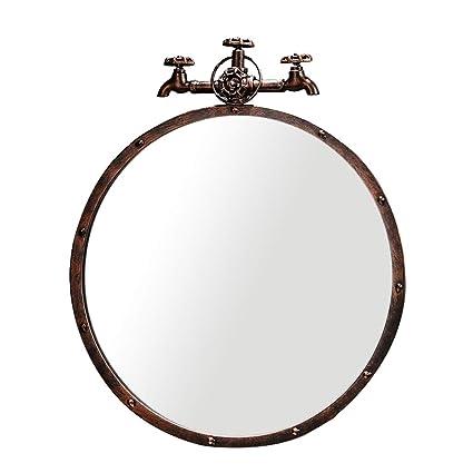 Specchi Artistici Da Bagno.Specchi Da Bagno Sospesi A Muro Specchio Da Parete Retro
