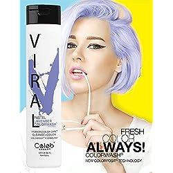 Celeb Luxury Viral Color Wash Shampoo, Pastel Lavender, Citrus Bloom, 8.25 Fl. oz.