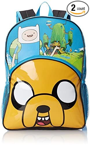 Image Unavailable. Image not available for. Color  Adventure Time Backpack  ... 6686567949