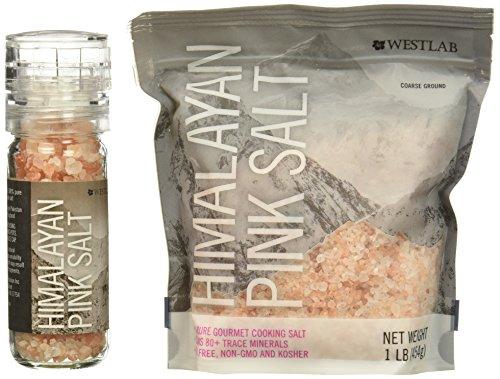 Westlab Himalayan Pink Salt Grinder
