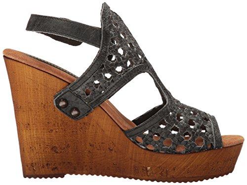 Carboncino Di Sandalo Con Zeppa Di Donna Macchiope