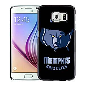 Fashionable Antiskid Cover Case For Samsung Galaxy S6 With Memphis Grizzlies 4 Black Phone Case