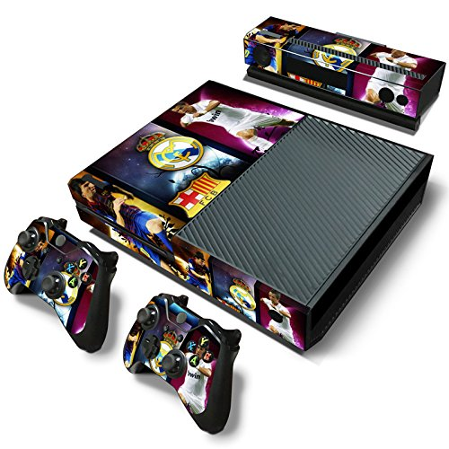 MKTRADE® 2015/2016 Soccer Teams Decal Skins for Microsoft Xbox One Console Controller Kinect,El Classico (Xbox 360 Games Football 2015)