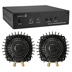 Dayton Audio BSA-200 Amp with 2 Aura Pro...