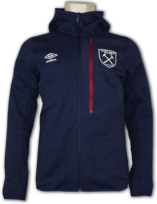 UMBRO West Ham United WUFC Hooded Jacket Hammers Hoodie