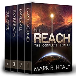The Reach: The Complete Series (Books 1-4) by [Healy, Mark R.]