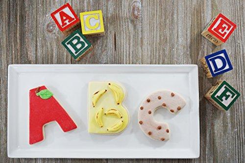 R&M International 1954 Alphabet 3'' Cookie Cutters, 26-Piece Set in Gift Box by R & M International (Image #4)