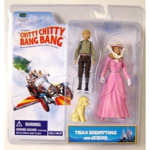 Chitty Chitty Bang Bang Two Pack Figure Truly Scrumptious /& Jeremy Potts Stevenson Entertainment