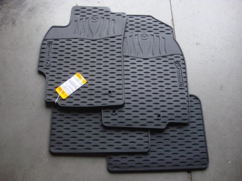MAZDA 6 2009-2013 NEW OEM SET OF FOUR ALL WEATHER FLOOR MATS