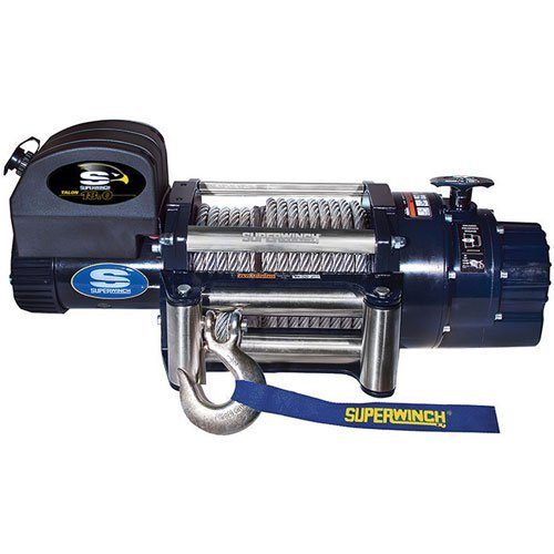 alon 18.0, 12 VDC winch, 18,000 lb/8,165 kg capacity with roller fairlead (Superwinch 12vdc Electric Winch)