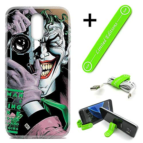 [해외][Ashley Cases] for LG [Stylo 5] [Stylo 5 Plus] Cover Case Skin with Flexible Phone Stand - Joker Camera / [Ashley Cases] for LG [Stylo 5] [Stylo 5 Plus] Cover Case Skin with Flexible Phone Stand - Joker Camera