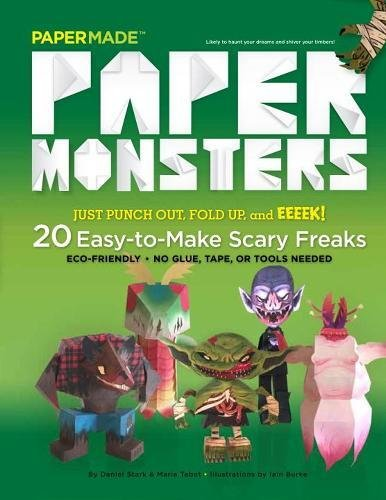 Paper Monsters (Halloween Paper Crafts Ideas)