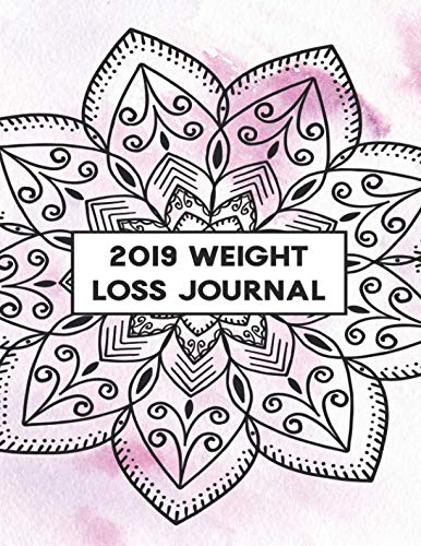 2019 Weight Loss Journal: Exercise + Habit Tracker for Women