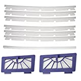 Huiaway 2 HEPA Filters + 6 Compatible Blades and 1 Squeegee...
