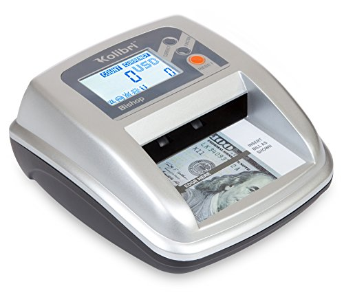 Kolibri Bishop 2-in-1 Counterfeit Money Detector and Bill Counter with UV