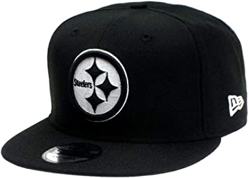 A NEW ERA Gorra Snapback de Pittsburgh Steelers, NFL, Talla única