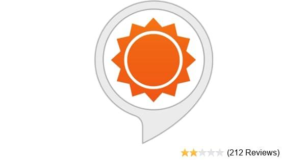 Amazon com: AccuWeather: Alexa Skills
